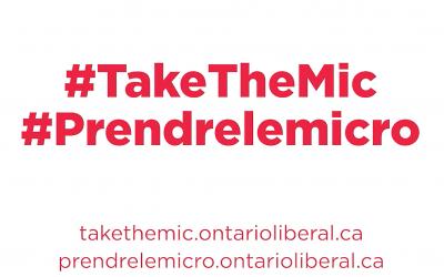 Ontario Liberals Launch Platform Consultation